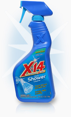 x 14 the bathroom cleaning expert x 14 daily shower cleaner